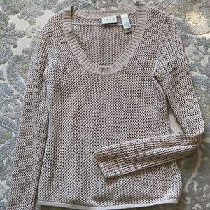 Yzza tan crochet top
